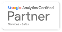 Google Analytics Certified Partner for Services - Sales